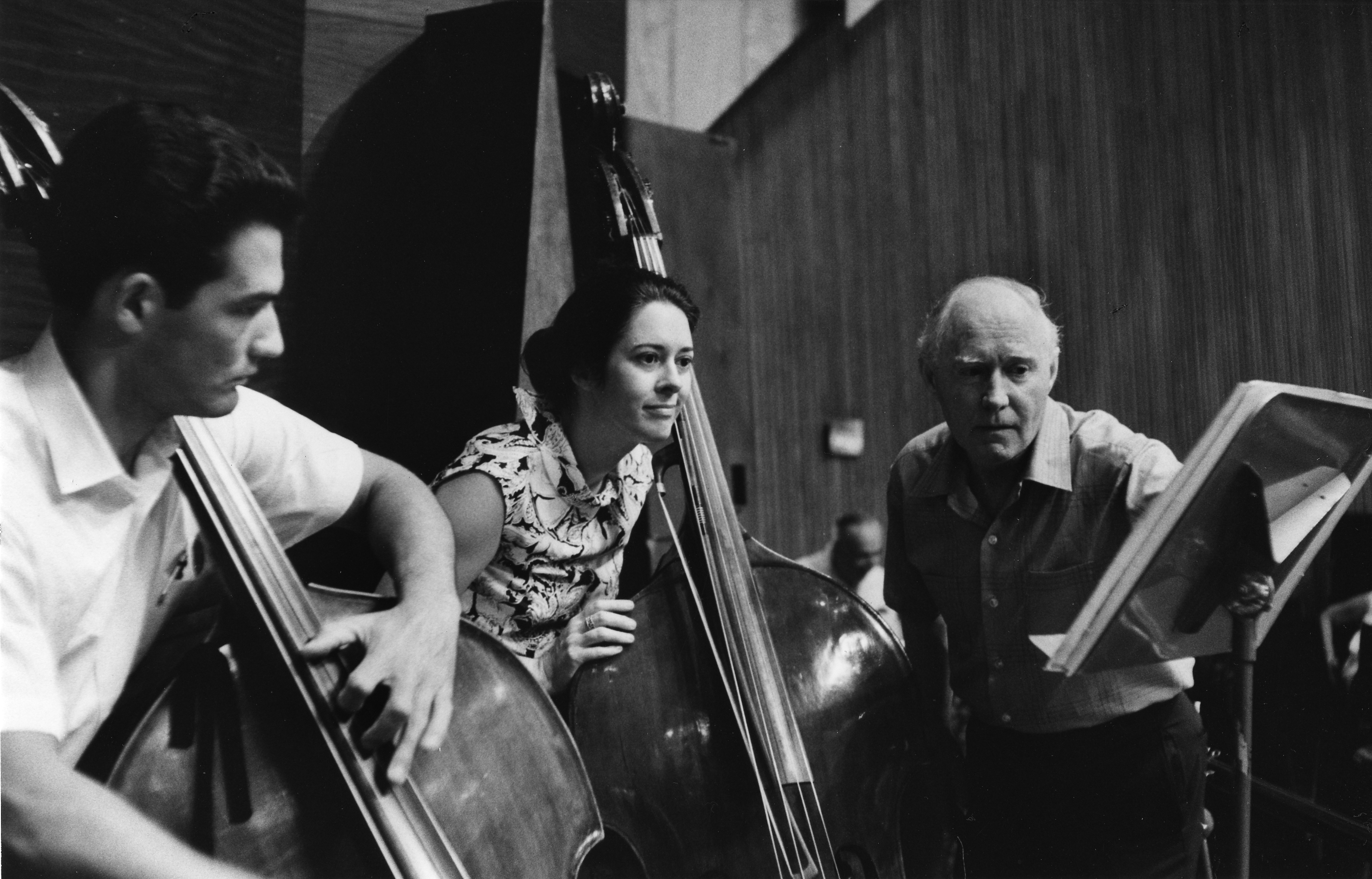 Philharmonic bassists in 1970