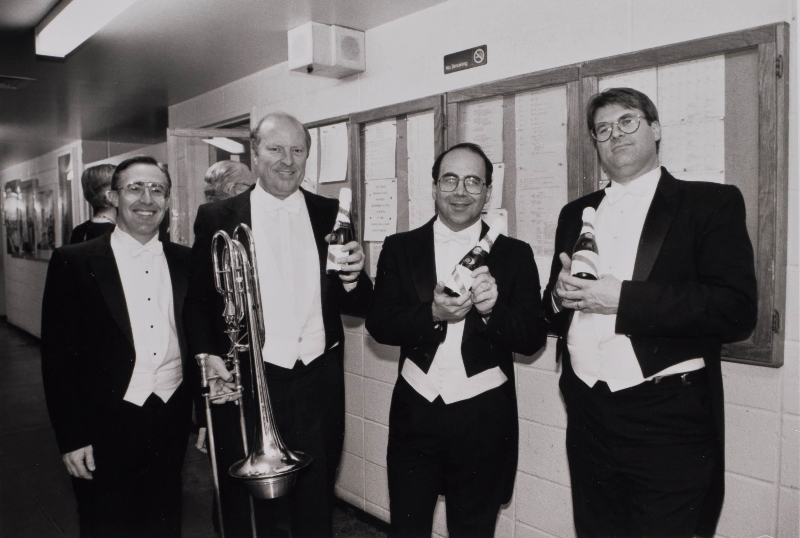 Trombone section, 1992