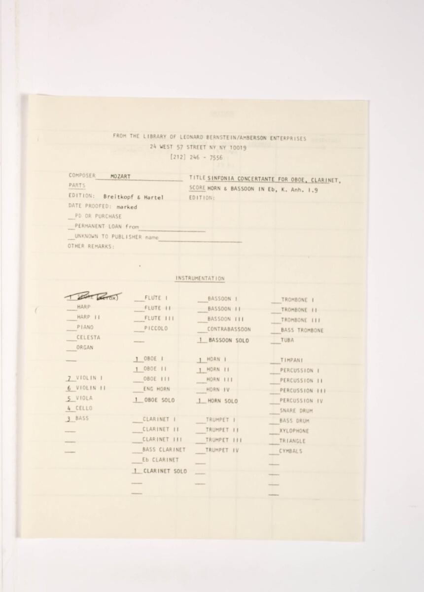 Mozart, Wolfgang Amadeus / SINFONIA CONCERTAN