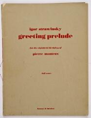 New york philharmonic scores stravinsky igor document image m4hsunfo