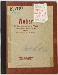 New york philharmonic scores weber carl maria von document image stopboris Images